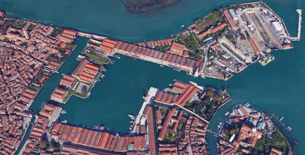 Arsenale Google Earth